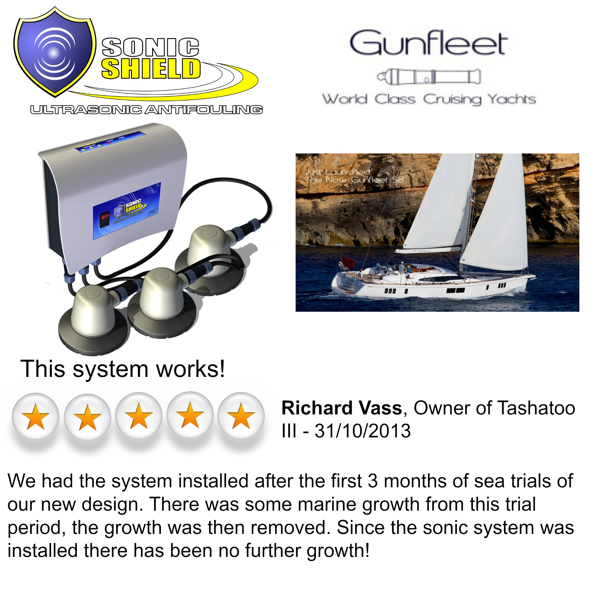 Review - Gunfleet Tashatoo III